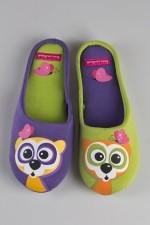 Тапочки домашние женские Сури фиолетовые
