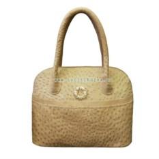 Женская сумка из натуральной кожи страуса высшего качества
