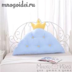 Декоративная подушка-корона Королевское счастье