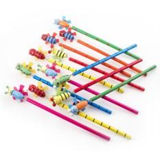 Набор карандашей на пружинке №7