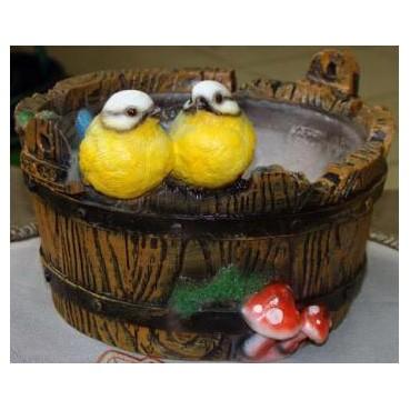 Кашпо «Птички на корыте»