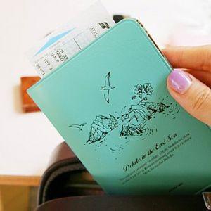 Обложка для паспорта Fly in - Dokdo