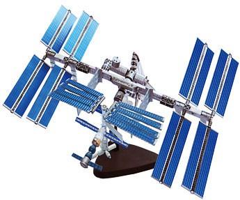 4D Модель Международная космическая станция