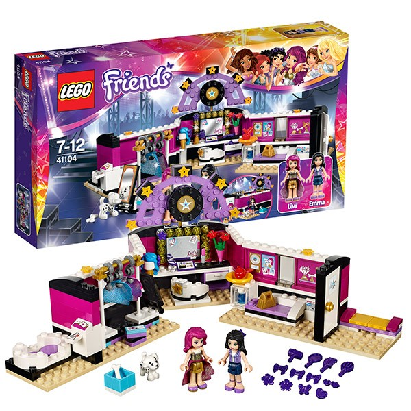 Конструктор Lego Friends Поп звезда: гримерная
