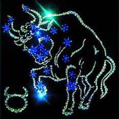 Картина из кристаллов Swarovski  «Звёздный телец»
