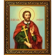 Икона на холсте Иоанн Сочавский великомученик