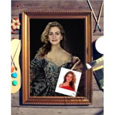 Портрет по фото Княгиня Екатерина
