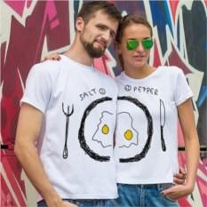 Парные футболки «Вкусный завтрак»