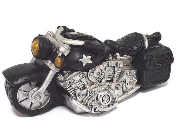 Черная копилка Мотоцикл