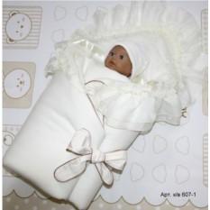 Комплект на выписку для новорожденного «Золотое руно»