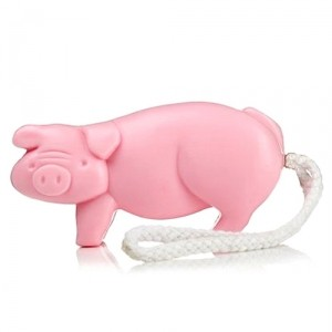 Мыло Large Pig Soap on a Rope
