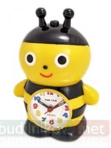 Будильник кварцевый Тик-Так Пчелка