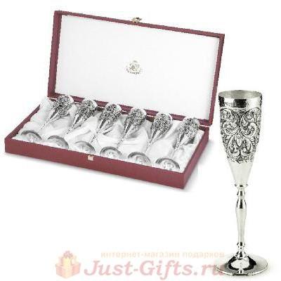 Набор бокалов для шампанского Sheffield