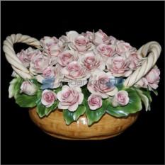 Цветы из фарфора Розовые сны