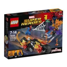 Конструктор LEGO Человек-паук: Союз с Призрачным гонщиком