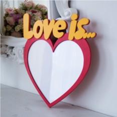 Фоторамка Love is