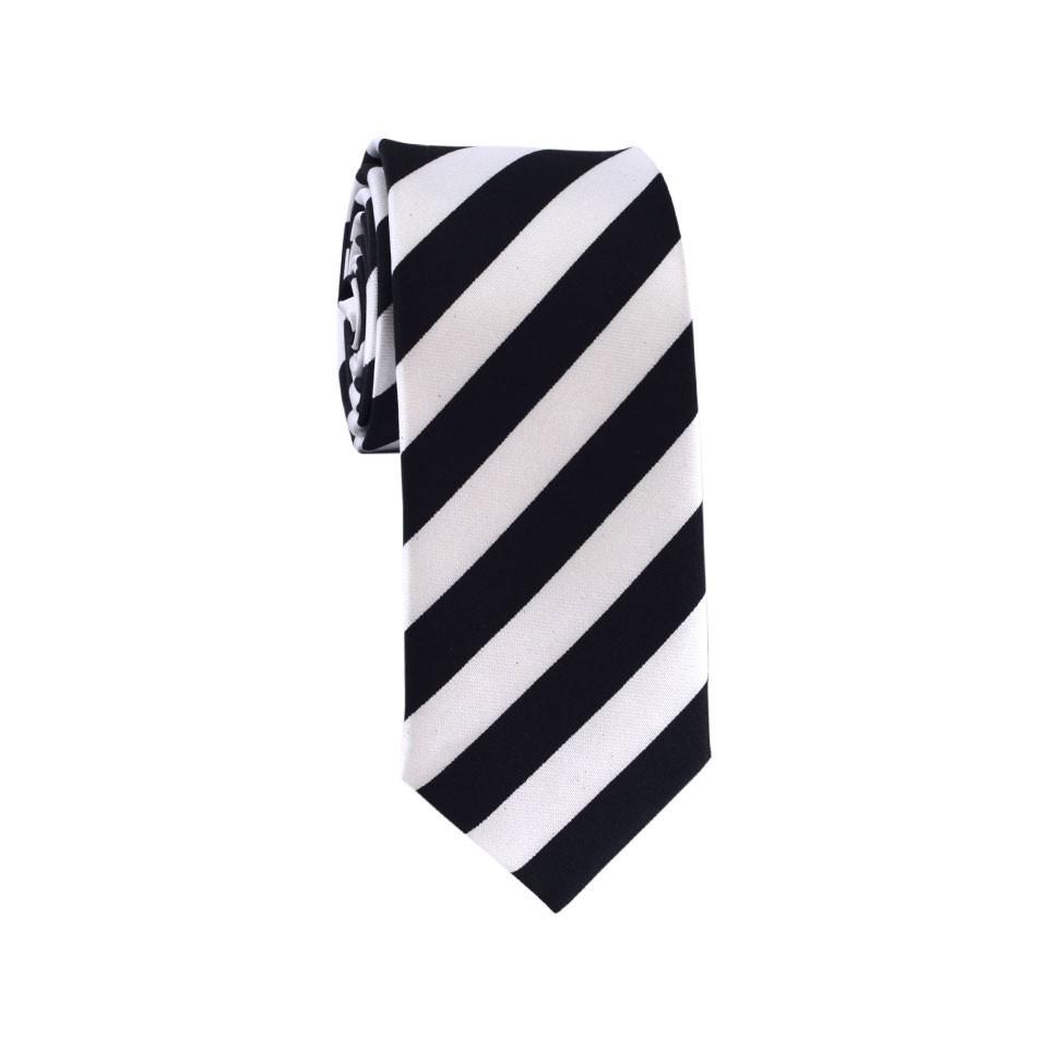 Узкий галстук #002 (полоска)