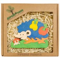 Развивающая игрушка Ежик с грушей