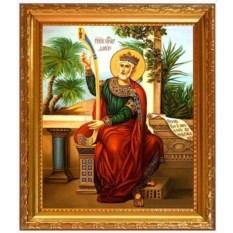 Икона на холсте Давид Святой царь и пророк, псалмопевец