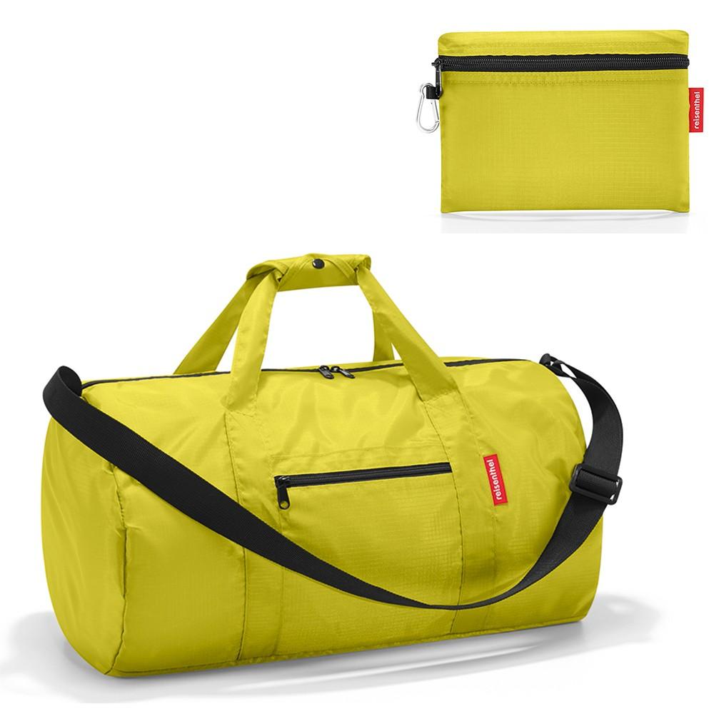 Складная спортивная сумка mini maxi dufflebag apple green