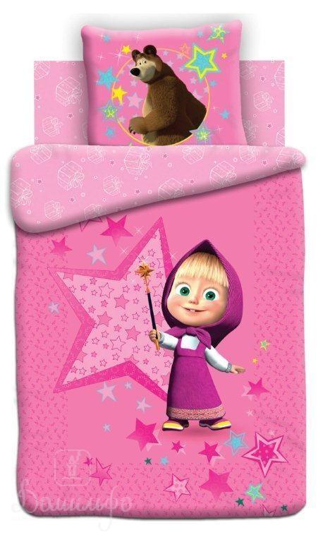 Детское постельное белье Маша и Медведь. Волшебница