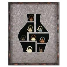 Картина фэн шуй интерьерная Нефритовые чайники