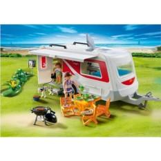 Конструктор Playmobil Summer Fun Семейный автоприцеп