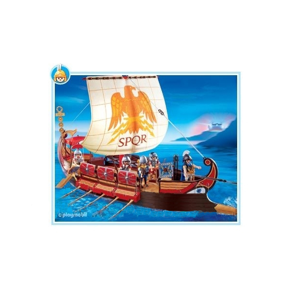 Корабль римлян