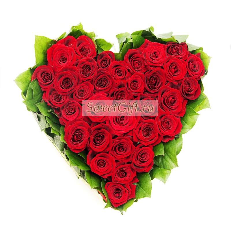 Композиция из роз Моей любимой