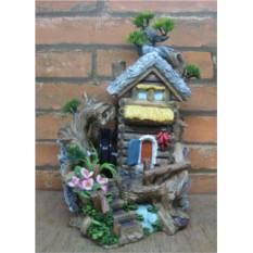 Декоративный фонтан Лесной домик