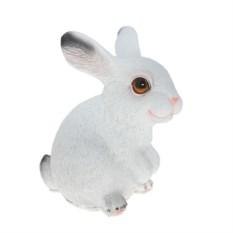 Декоративная фигура Белый зайчонок