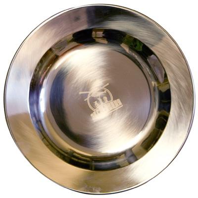 Тарелка из нержавеющей стали Expedition, 22 см