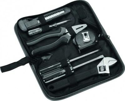 Набор инструментов в чехле, серый, 7 предметов