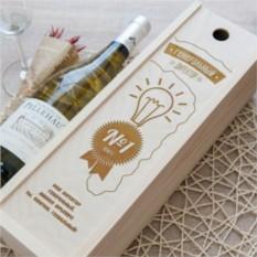 Коробка для вина Генеральный директор №1