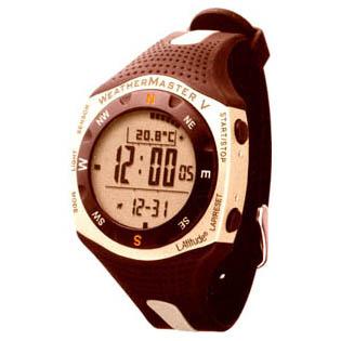Многофункциональные  наручные часы WeatherMaster II