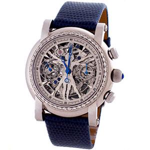 Мужские часы-хронограф VITRUVIAN MAN