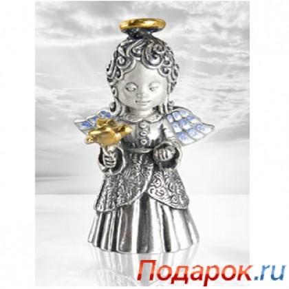 Серебрянный ангел «Вера»