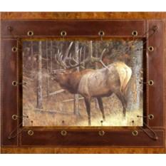 Картина из кожи Мечта охотника Карл Брендерс