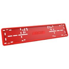 Красная рамка номерного знака RCS