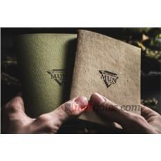 Набор из двух тетрадей The Mun Wood'n'Moss Pack формата А6