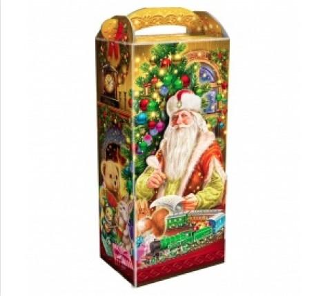 Сладкий новогодний подарок Поздравление Деда Мороза
