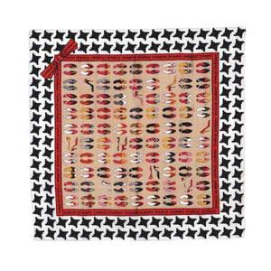 Платок шелковый Charles Jourdan модель Escarpin