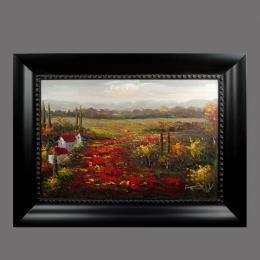 Картина «Поле», холст, масло