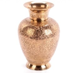 Латунная ваза Загадочность