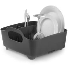 Серая сушилка для посуды Tub