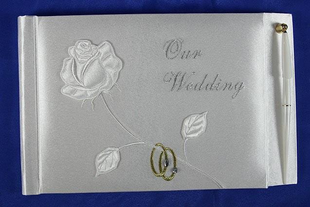 Свадебный альбом для пожеланий ручной работы