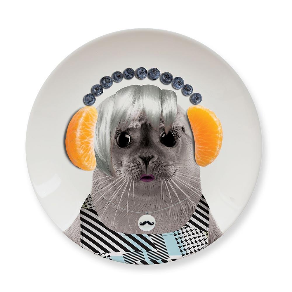 Обеденная тарелка Baby Seal