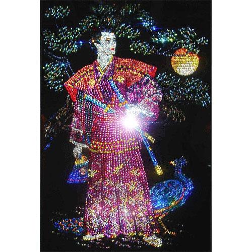 Хрустальная картина «Самурай»