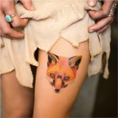 Татуировка переводная Sasha Unisex Red fox