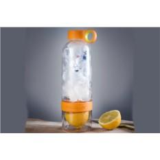 Оранжевая бутылка-соковыжималка Citrus Zinger